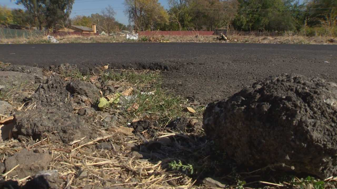 A Sacramento man sues the city over potholes.