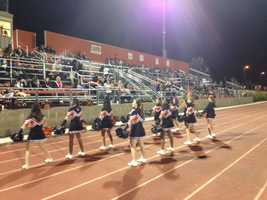 Bear River traveled to Foothill in Sacramento Friday night. (Nov. 8, 2013)