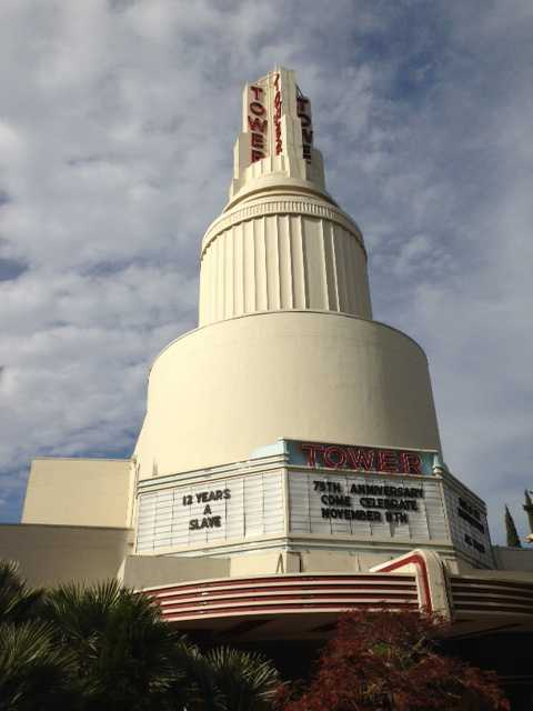 The iconic Tower Theatre in Sacramento celebrated its 75th birthday Monday.