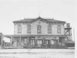 The Masonic was first built in 1880 before being destroyed by a fire in the late 1890s.