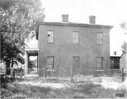 The founding of Elk Grove begins with this stage-shop hotel, built by James Hall in 1850. James also had the honor of naming the town. Hall might have been inspired to name the town Elk Grove after seeing tule elk in a grove of oak trees, according to Jim Entrican, a long-time resident.