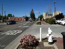 Elk Grove Boulevard looking west.