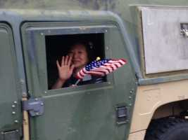 A Veterans Day parade took place Monday on the Capitol Mall (Nov. 11, 2013).