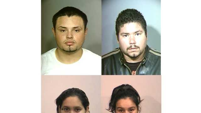 Photos (clockwise from top left): Daniel Villasenor, Raul Aguilar, Maria Hernandez, Elizabeth Aguilar.