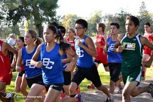#42 - Bear Creek High School and Franklin High School in Stockton were two schools that participated in the Oak Grove Regional Park Cross Country Meet.