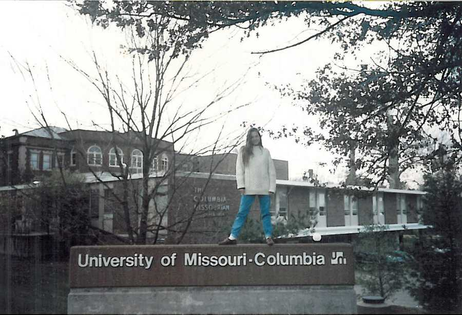 5.)I have a journalism degree from the University of Missouri-Columbia.