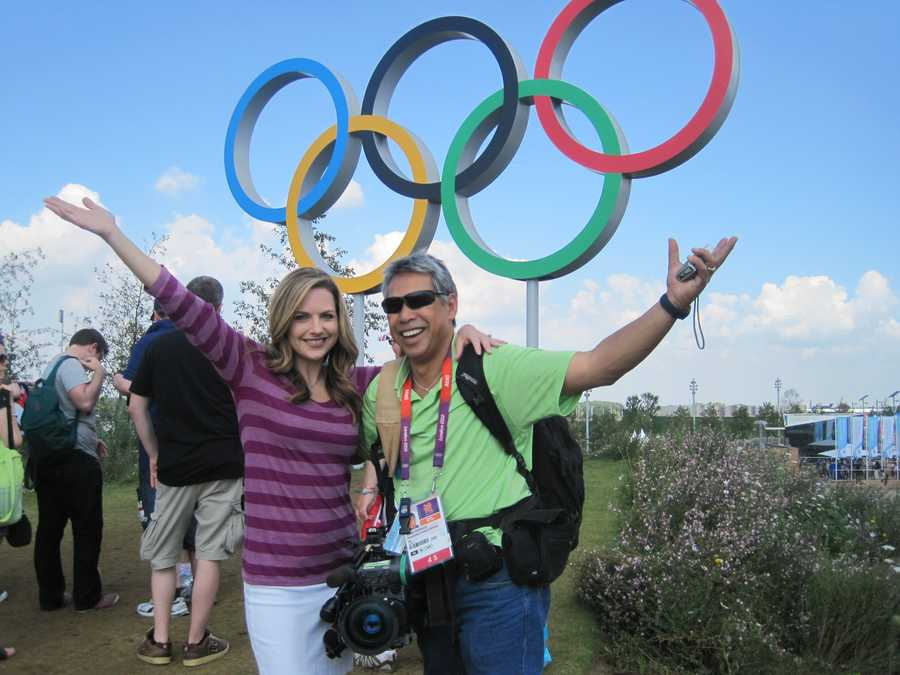 """14.) I have seen more of the world with my Olympic partner, Mike """"Domi"""" Domalaog, than I have my husband."""