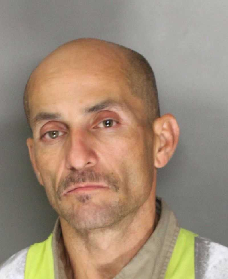 Raul Lujan, 47, was arrested and booked for possession of stolen property in a bait bike operation, police said.
