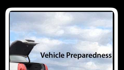 Wet, cold weather means changing road conditions in Northern California. The National Weather Service suggests vehicle owners be prepared by making a kit with the following 12 items.