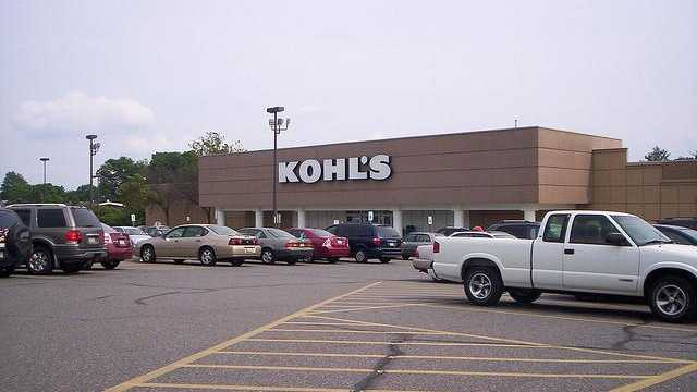 Kohl'sThursday 6 p.m. until Friday midnight