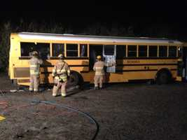 Modesto City Schools donated the bus. Repairs would have cost the district more to keep the vehicle on the roads.