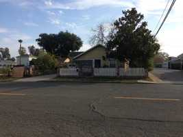 This the home in Galt where a baby was found in the front yard (Nov. 27, 2013).