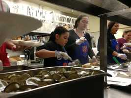 The Salvation Army in Sacramento expected to serve up to 500 meals on Thanksgiving.