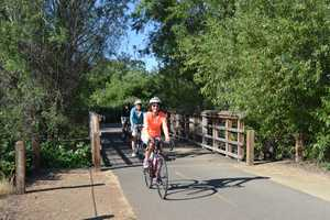 There are approximately 34 miles of biking and walking trails throughout Folsom, with more in the works.