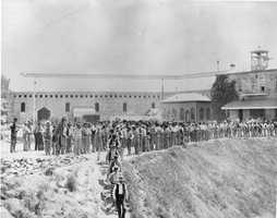 Folsom State Prison opened in 1880 and helped ease overcrowding at San Quentin State Prison.