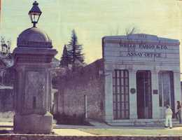 This photo from 1960 was the year the Folsom Historical Society was founded. The society's goal was to preserve the history of Folsom and to reconstruct the Wells Fargo and Company assay office.