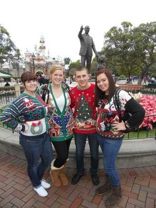 You can shamelessly sportthat perfect Christmas sweater.