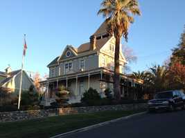 The Cohn Mansion is possibly the most sketched and photographed house in Folsom, partly because of the unique design and square tower.