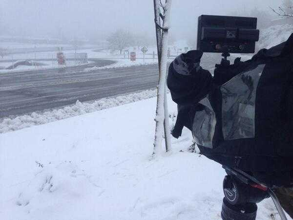 KCRA 3's live shot Saturday morning in Placerville.