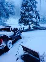 Low snowfall in Placerville, Calif. (Dec. 7, 2013)