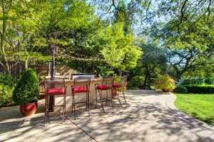 The gardens were designed and are maintained to be enjoyed privately or by many guests who can be comfortably accommodated in the several thoughtfully crafted gathering areas.