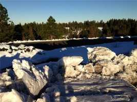 Drivers in Grass Valley said the hard freeze made driving extra scary.