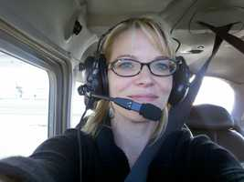 13. You may have noticed the similarities between Tamara Berg and me. One way we are different, I have no ambitions to become a pilot. My husband has his pilot's license. Being the passenger and taking in the scenery is my way to go!