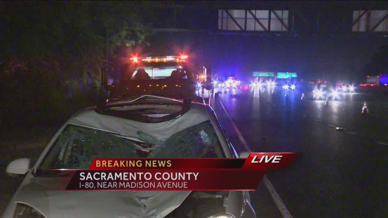 img-Deadly crash shuts down lanes on I-80 near Madison Avenue