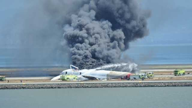 Three people died and 181 of the 307 passengers aboard Asiana Airlines Flight 214 were hurt when the plane, coming in too low and slow, slammed into a seawall at the end of the runway at San Francisco International Airport.