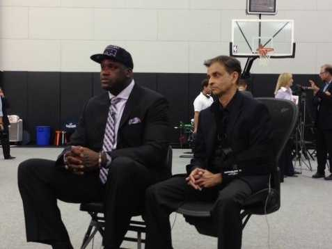 Shaquille O'Neal, who became the newest member of the Sacramento Kings ownership group in September, shared his global vision for the NBA Kings -- and the city -- during an introductory press conference at Sleep Train Arena.