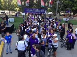 Cesar Chavez Plaza hosted a large May celebration for the renewed and saved Sacramento Kings. The king-sized party featured some new and familiar faces, including majority owner Vivek Ranadive, Mayor Kevin Johnson and former NBA All Stars Chris Webber, Mitch Richmond.