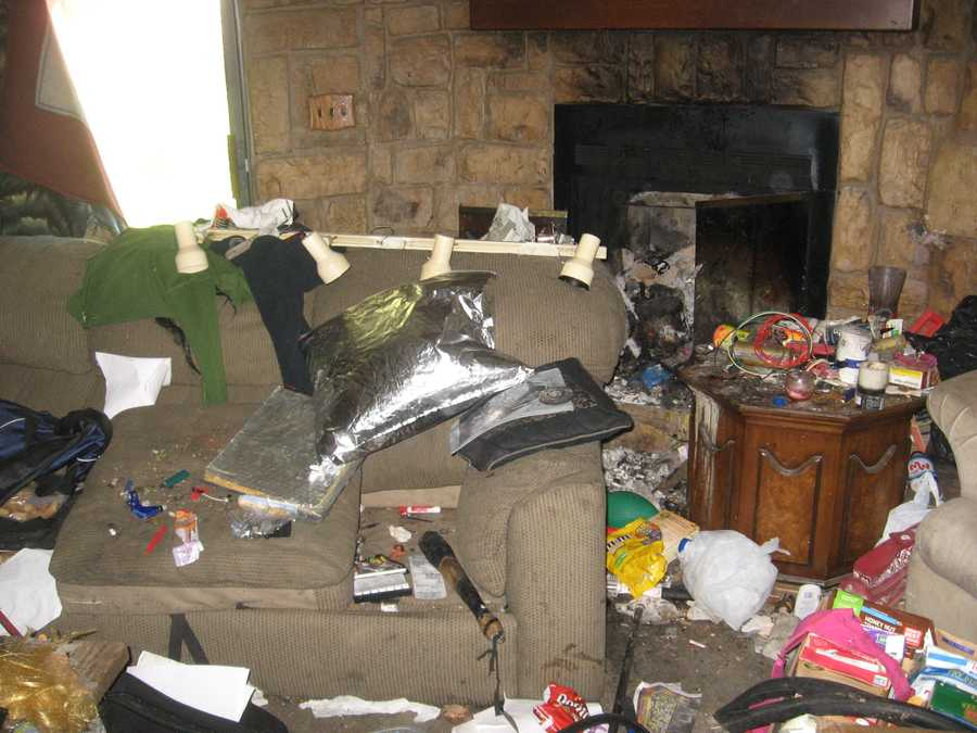"""A Modesto couple faces child endangerment charges after officers caught the pair living in a """"horrid and very unsafe"""" abandoned house, according to police."""