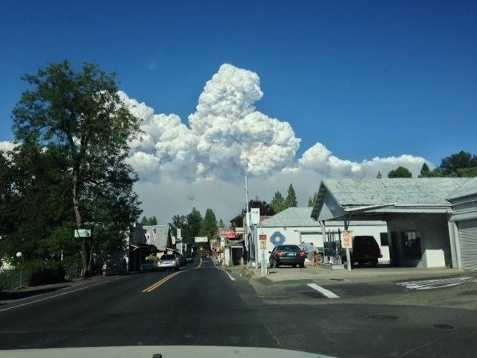 The Rim Fire raged in forest land in and around Yosemite National Park and grew to become one of the largest wildfires in California history.