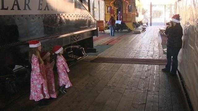 Polar Express train Sacramento