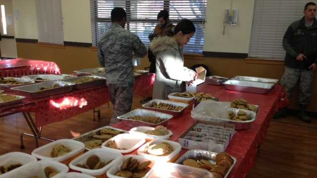 Travis AFB Operation Cookie Drop