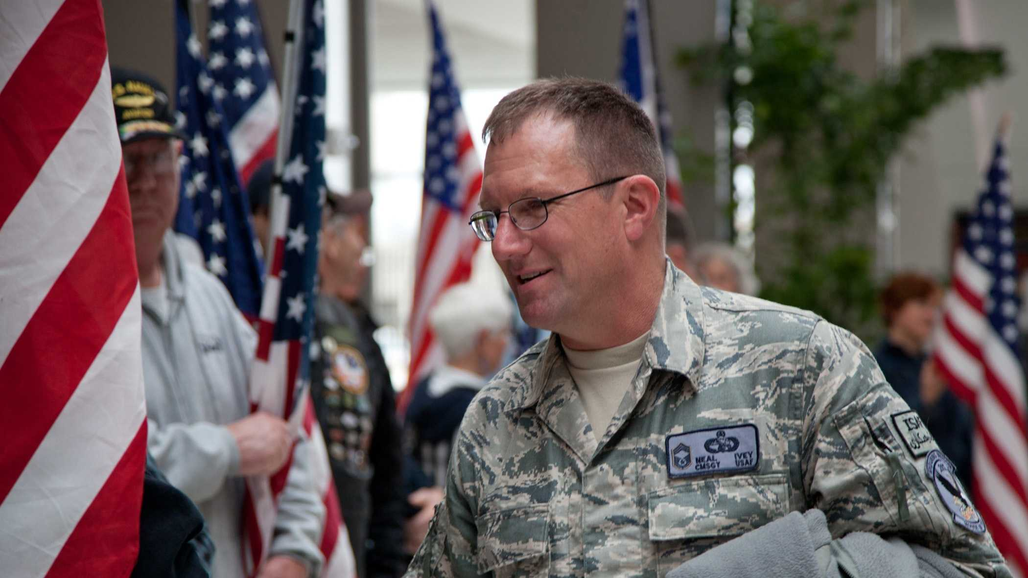 Master Sgt. Robert Ivey