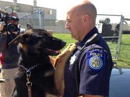 Nearly one year after being shot in the line of duty, Sacramento police dog Bodie will retire. He recovered from those injuries, but police said they make it hard for the K-9 to keep up with the physical demands of the job.