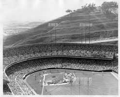 In 1959, the stadium, which sits atop Candlestick Point, was officially named Candlestick Park.