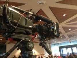 A KCRA 3 camera catches Wednesday's surprise (Dec. 18, 2013).