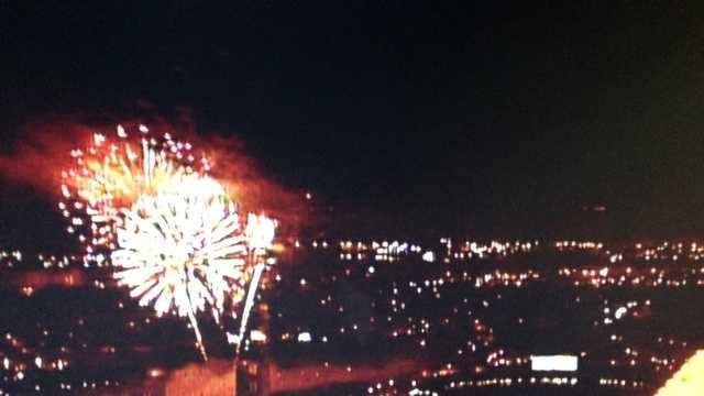 Old Sac fireworks