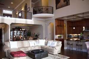 Check out the open floor plan.