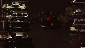 Officers responded Friday evening to a report of a shooting at West Valley Mall in Tracy. (Dec. 20, 2013)