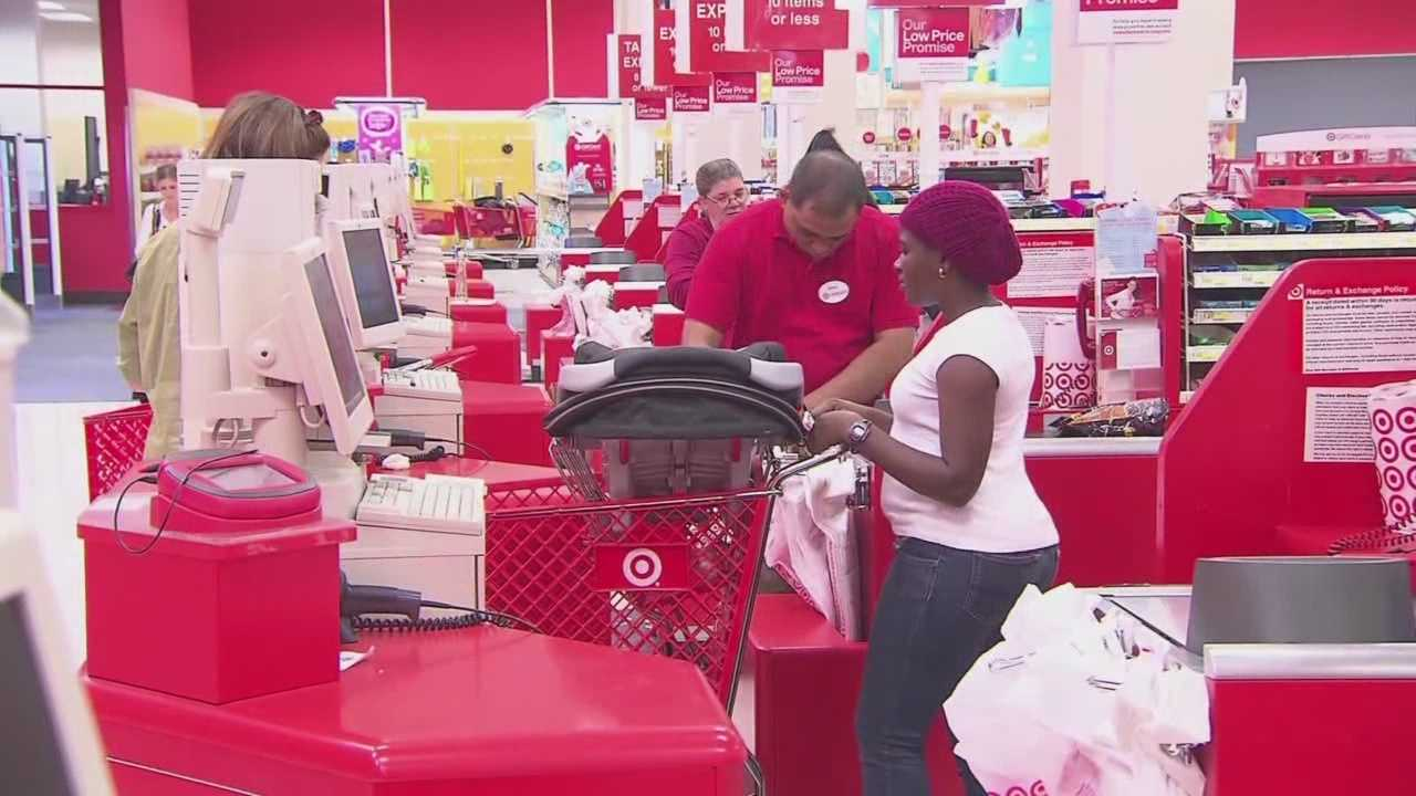 Target offered 10% off most items Saturday and Sunday after a data breach that affected 40 million of its customers.