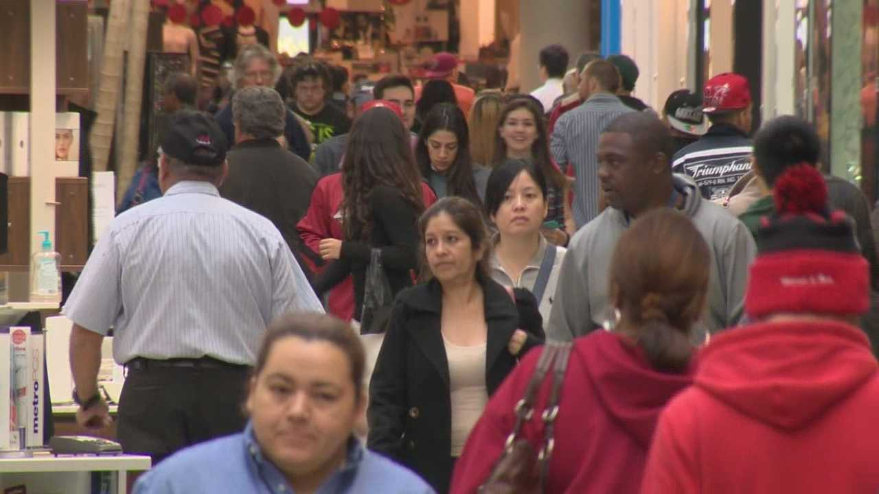 With six fewer shopping days till Christmas even well prepared shoppers were caught off guard and took to the stores.