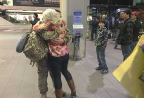 More than 37 members of the National Guard arrived in California on Christmas Eve after spending the last six months in Afghanistan.