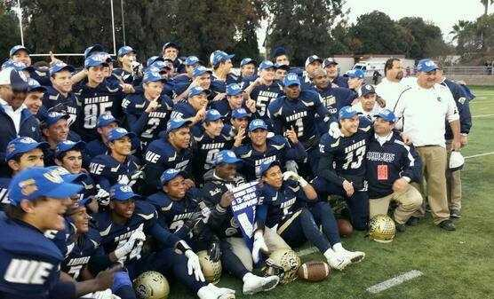 Central Catholic's football team won the Division IV Sac-Joaquin Section championship and went on to win the 2013 CIF State Bowl championship in Southern California for the second year in a row.