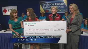 Nice: Hurricane relief efforts