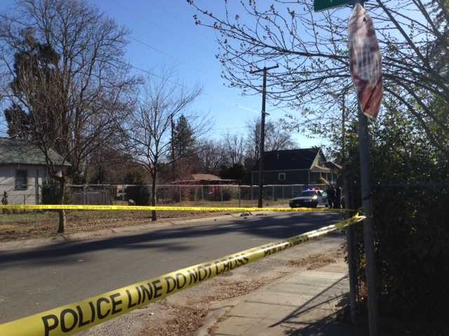 Police are investigating a shooting in front of 3139 37th Street in Sacramento.