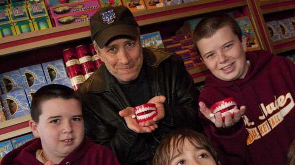 celebs and kids - Jon Stewart