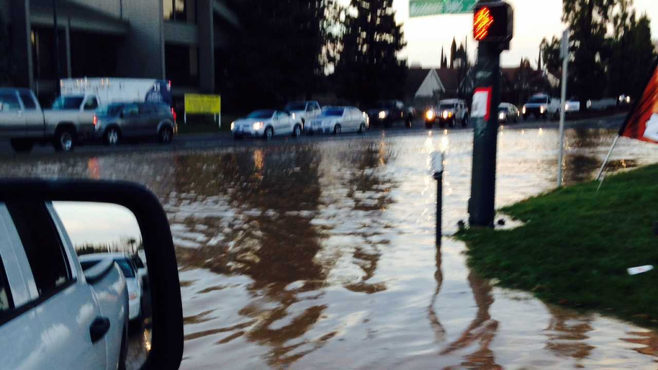 Citrus Heights street flooding